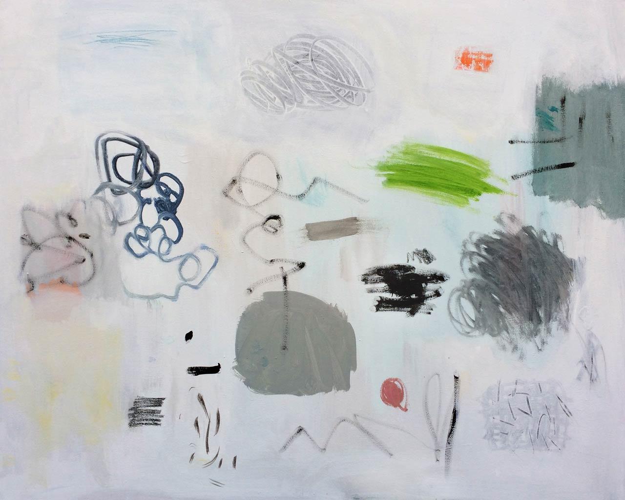 ALTERNANCE-1-60,96×76,2cm (24x30po) Acrylique et technique mixte sur toile