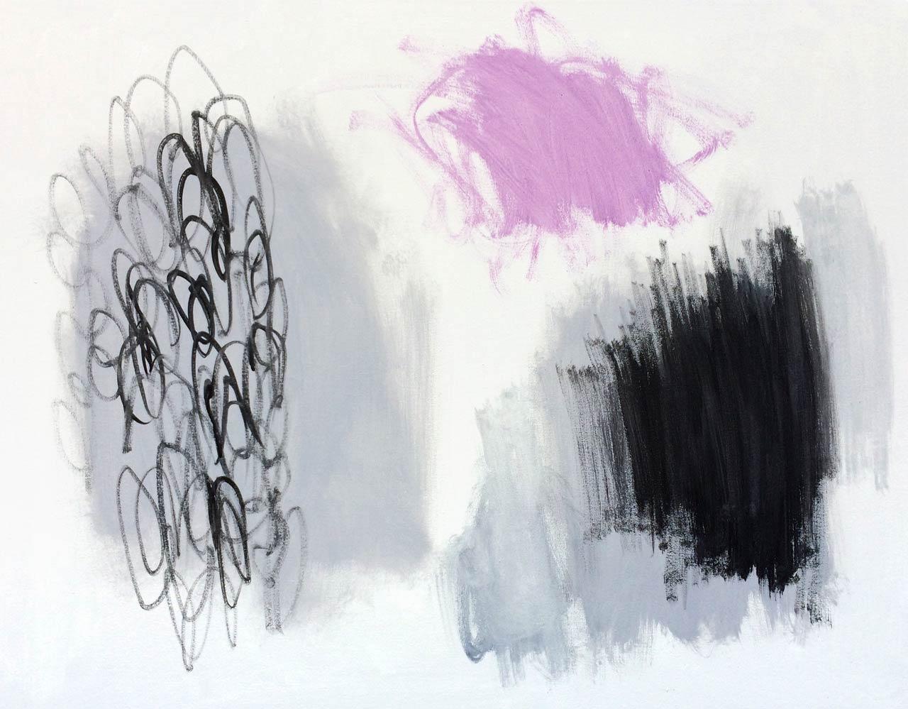 LES MINIMALISTESMÉTAMORPHOSE-1-60,96×76,2 cm (24x30po)Acrylique et technique mixte sur toile