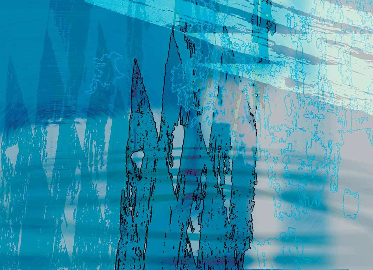 Réminiscence, œuvre numérique 2175×1575 pixels