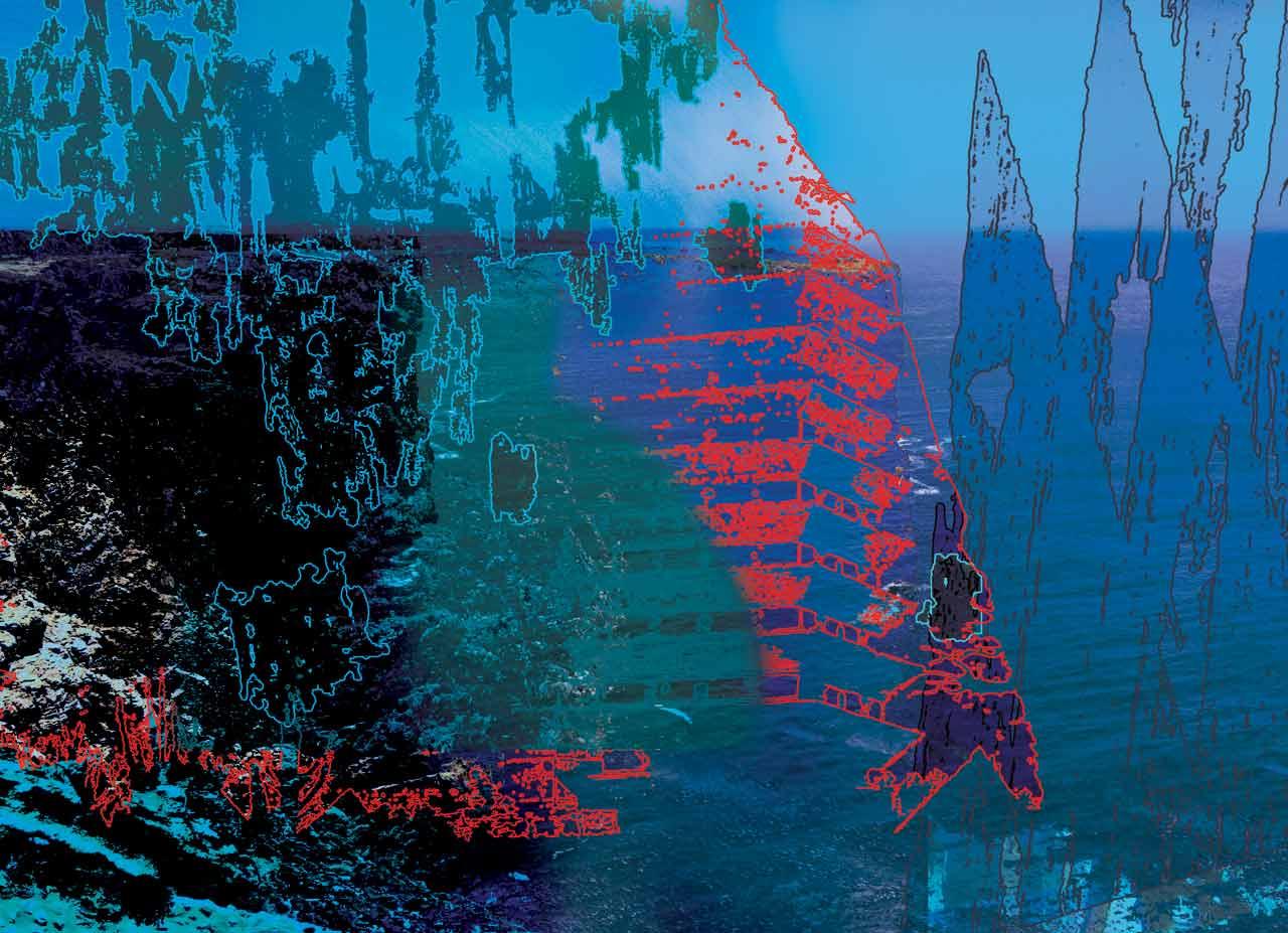 Souvenirs de mer oeuvre numérique 2175×1575 pixels