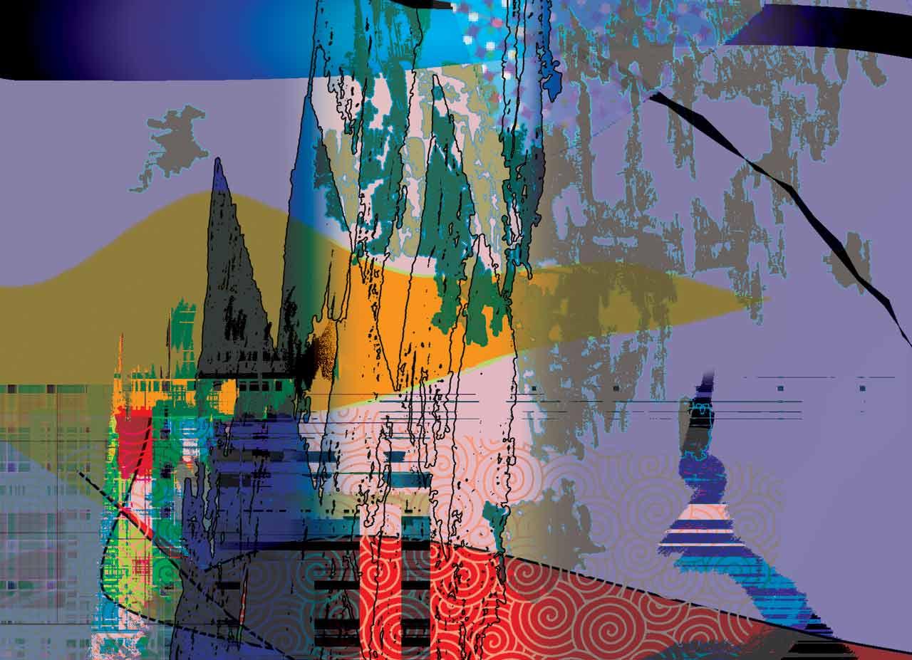 Résurgence-1, œuvre numérique 2175×1575 pixels – no 13
